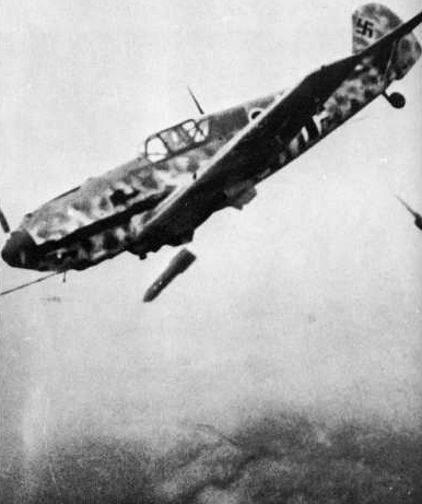 109 Jabo Fighter w/250KG Bomb