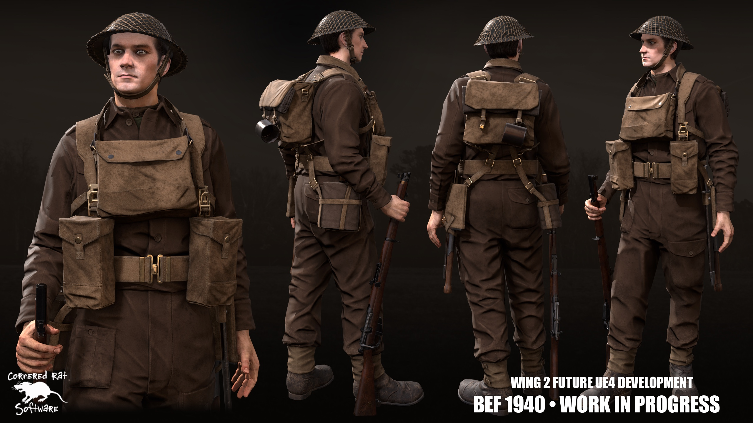 Introducing our new 1940 British Soldier.