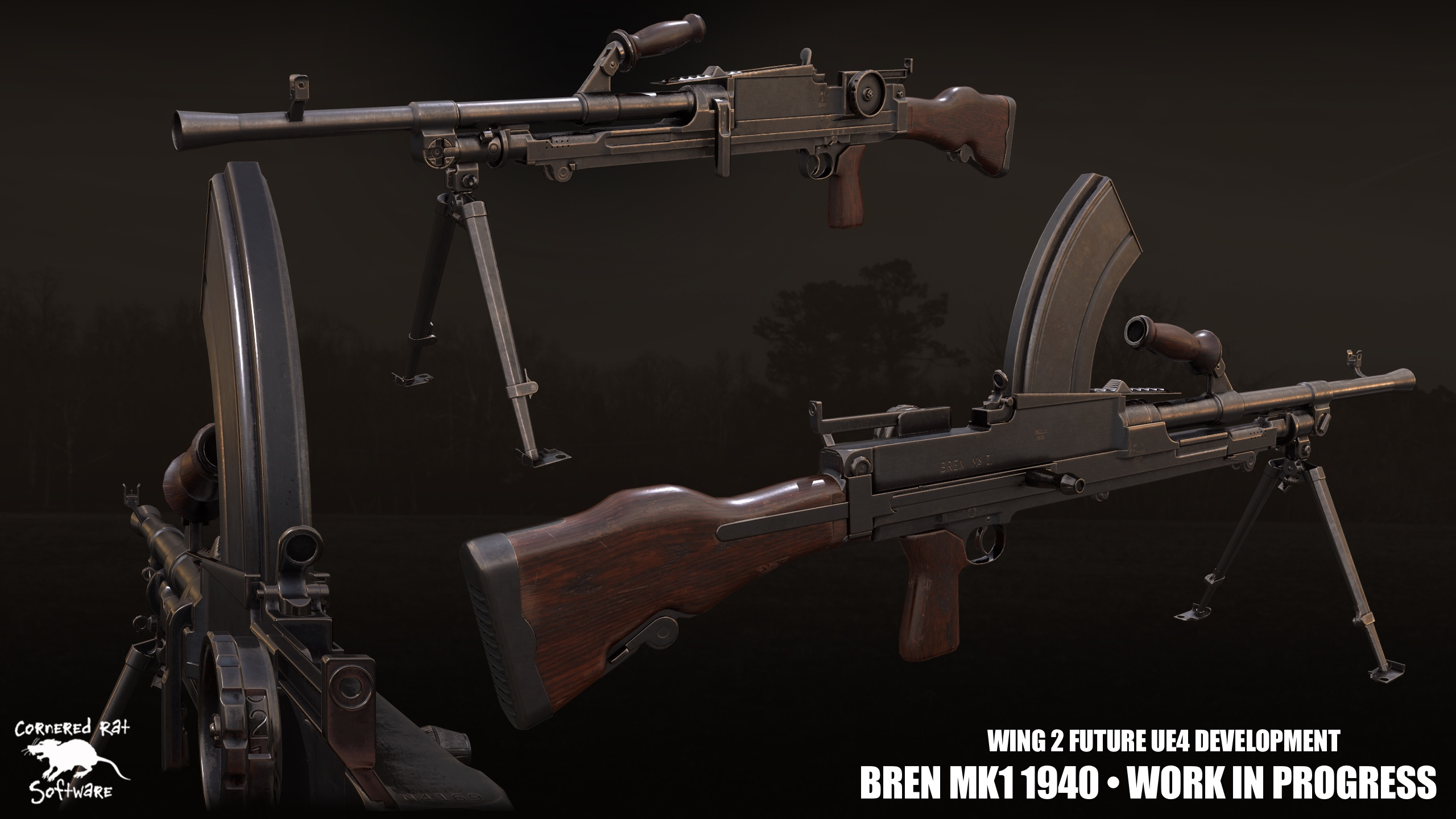 Introducing our new Bren Gun for the British soldier.