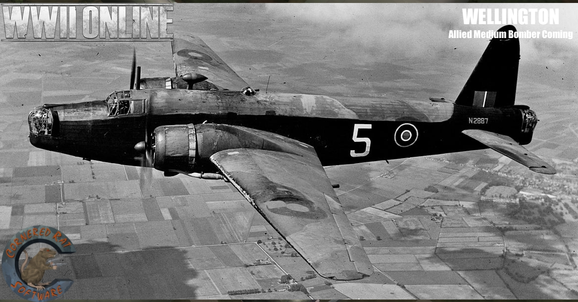Wellington Bomber Picture (Next Allied Bomber)