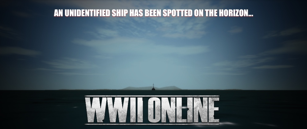 Unidentified Ship Spotted!