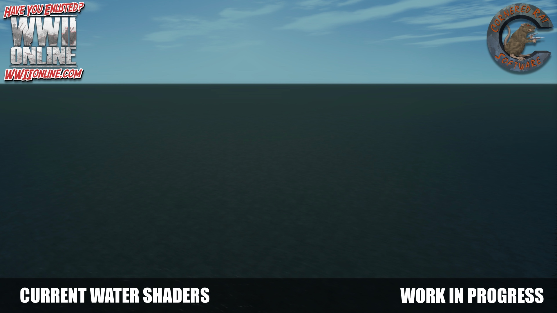 Current water shaders