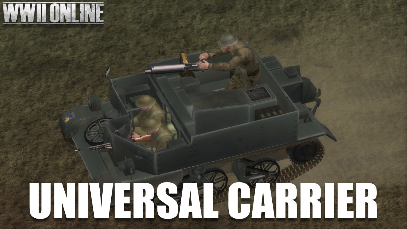 Universal Carrier for BEF