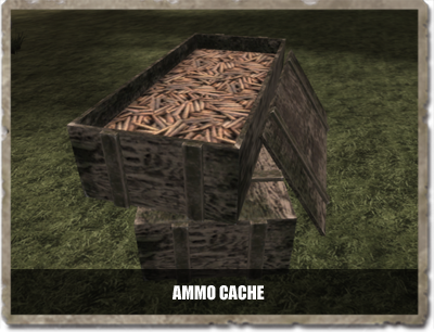 The all new ammo cache! Resupply units