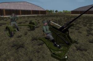 New Flak 30 AA Gun