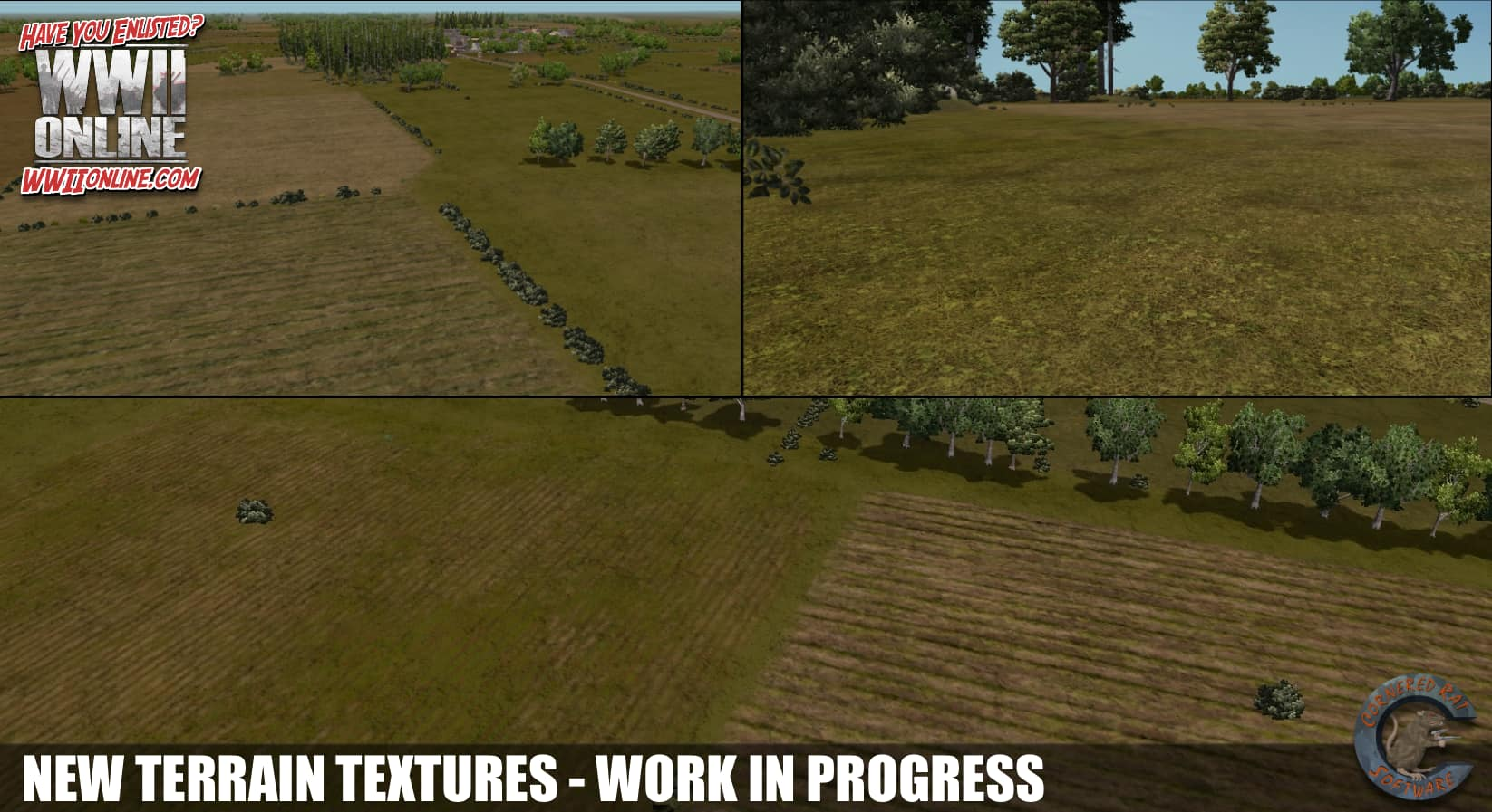 New terrain textures by PITTPETE