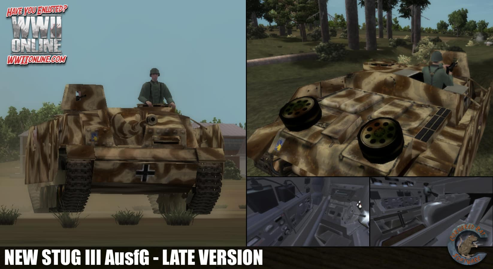 Stug with machine-gun