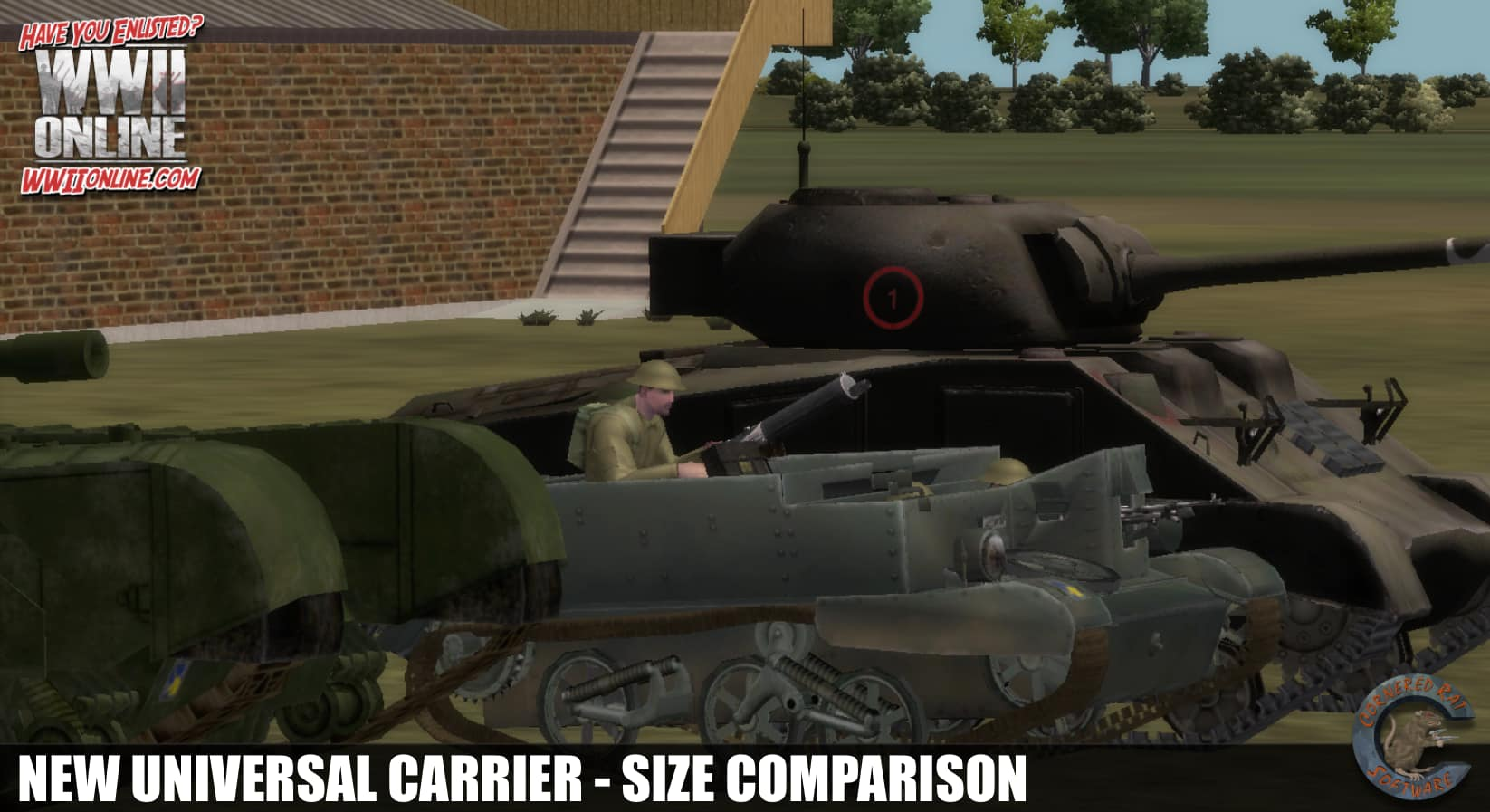 Universal Carrier size comparison