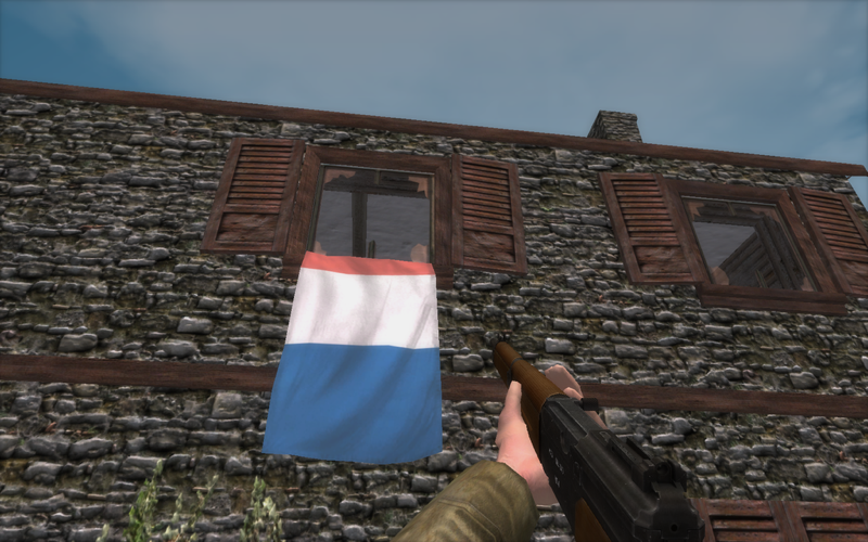 French Mas40 semi-automatic rifle in WWII Online (in development)