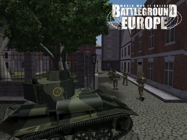 British patrol